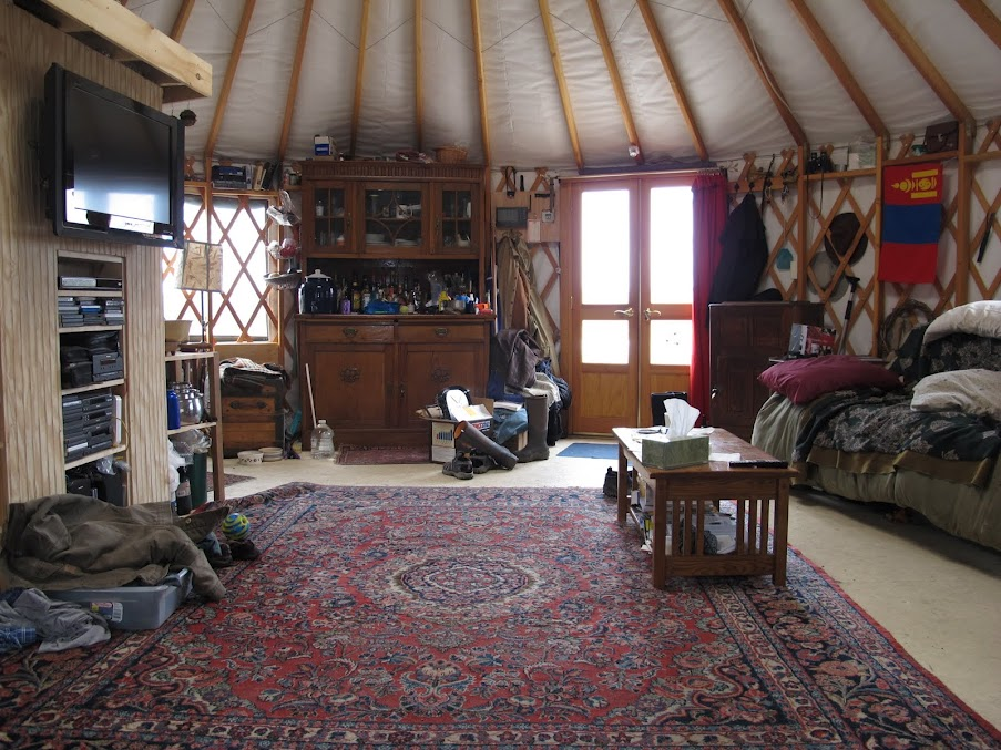 Yurt for Sale….SOLD!!! – True Nomads Need No Maps